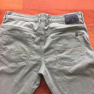Buffalo David Bitton Sam-X 36x34 sage color jeans